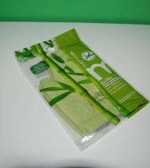NOVO rukavica za peeling od lufe i vlakana bambusa