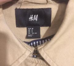 H&M 🐞 kratki balonerić bež boje