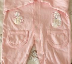 Rozo odijelo za bebe