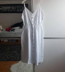 Sniženoo 85 kn! 😊👗Nova bijela haljina s gumbima