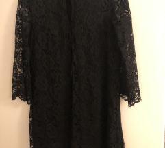 Cipkasta crna haljina Zara