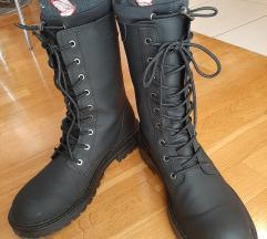 Pull&bear ruberized boots 41