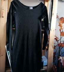 %%》Midi crna haljina《
