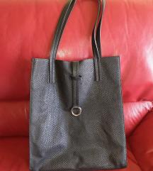 Guliver crna nova kožna torba