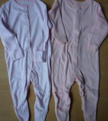 F&F jednodjelna pidžama, 2 kom., 3-6 mj. 68