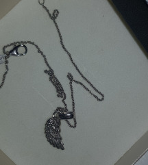 Srebrni lančić krilo - novi