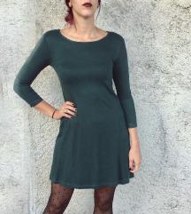 Smaragdno zelena haljina