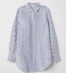 H&M prugasta košulja / 100% pamuk
