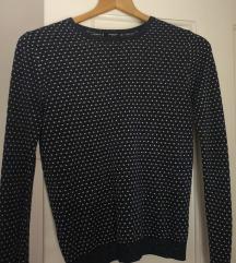 MANGO SUIT pulover metalizirajućeg izgleda