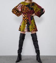 Zara haljina patchwork