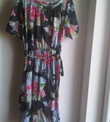 Cvjetna haljina za plažu / kaftan M/L