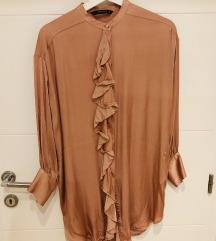 Zara svilena haljina/tunika