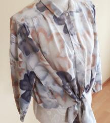 Vintage cvjetna bluza vel.48