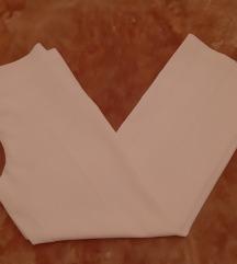 Svijetlo roze klasične hlače POKLON