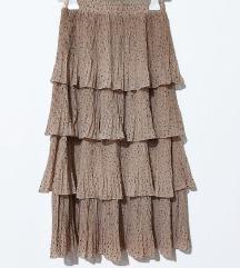 Suknja na volane  nova