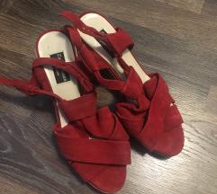 Zara nove crvene cipele 38