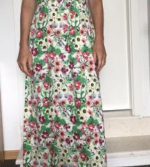 Vero moda ženska duga haljina vel S