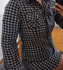 Karirana košulja/tunika