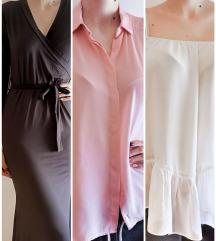 LOT haljina + 2 bluze / TISAK GRATIS
