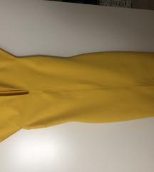 Zara žuta haljina XS