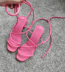 Hm roze sandale