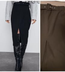 Nova zara suknja sa remenom
