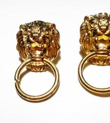 Vintage Naušnice Novo lav