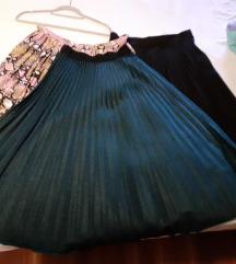 Plisirane midi suknje L/XL pt.u cijeni