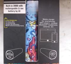 Novo prenosiva bezicna baterija za mobitel