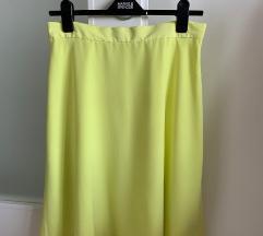 GAP suknja, svilenkasta, s podstavom