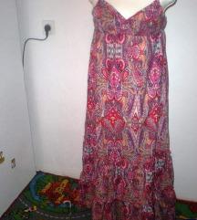 Duga haljina ljetna sarena