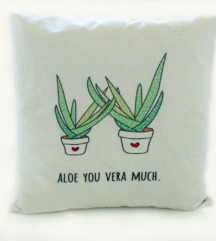 Nova Aloe you very much jastučnica
