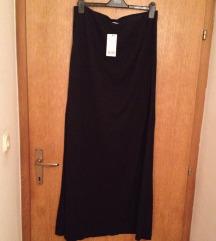 Mango crna duga suknja viskoza