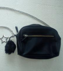 MANGO torbica s coflekom i privjeskom