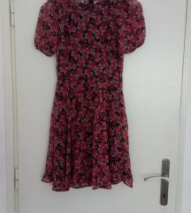 Retro Haljina na cvjetiće, Zara, XS