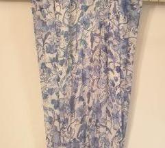 H&M duga cvjetna haljina