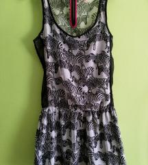 Bershka zanimljiva i vesela ljetna haljina