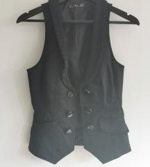 Zara TRF crni prsluk