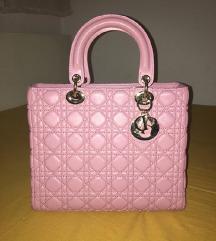 Torba Lady Dior Medium roza