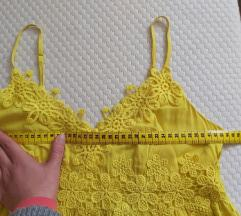 Haljina žuta 36/38 Top Shop