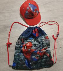 Spiderman kapa i ruksak za dječake