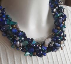 Ogrlica iz kamnov NOVA