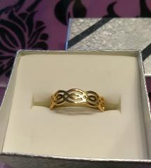 Prsten zlatni čelik