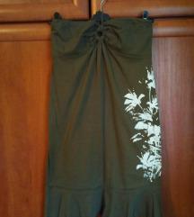 BROADWAY NYC maslinastozelena haljina