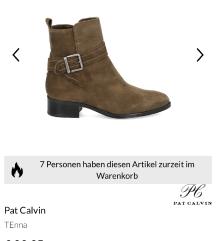 NOVE Pat Calvin čizme brušena koža