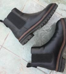 Timberland crne kožne Chelsea čizme gleznjace