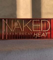 Naked heat paleta