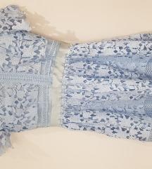 Svečana haljina baby blue l xl