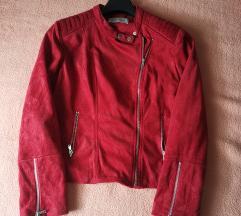 Kožna jakna Promod