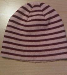 Toplija zimska kapa za curicu do 80/86
